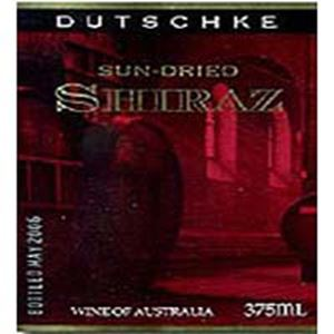 Picture of Dutschke-Sun Dried-Shiraz-NV-375mL