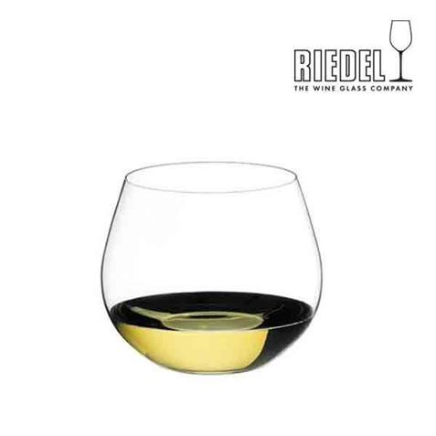 Picture of Riedel O Tumbler Oaked Chardonnay Glass Gift boxed in pairs