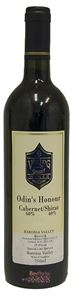 Picture of Viking Wines-Odins Honour-Cabernet Sauvignon Shiraz-2001-750mL