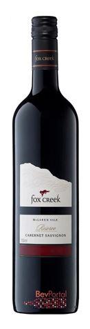 Picture of Fox Creek-Reserve-Cabernet Sauvignon-2001-750mL