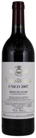 Picture of Vega Sicilia-Unico-Tempranillo-2007-750mL