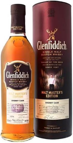 Picture of Glenfiddich-Malt Masters Edition Sherry Cask Single Malt-Scotch Whisky-700mL