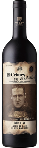 Picture of 19 Crimes-Uprising Rum Aged Red---2019-750mL