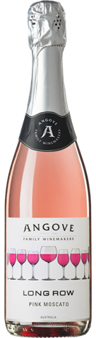 Picture of Angrove-Long Row Sparkling-Pink Moscato-NV-750mL