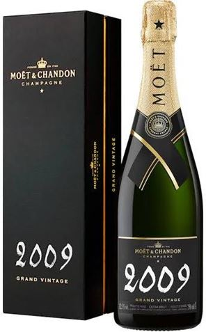 Picture of Moet & Chandon-Grand Vintage-Chardonnay Pinot Noir Pinot Meunier-2009-750mL