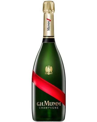 Picture of G.H. Mumm-Grand Cordon - Brut-Pinot Noir Chardonnay-NV-750mL