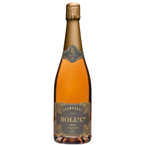 Picture of Boll & Cie-Saignee Rose Brut-Pinot Noir-2007-750mL