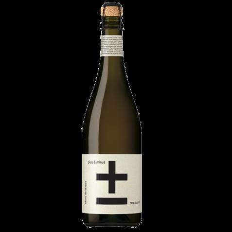 Picture of Plus & Minus-Zero Alcohol Blanc de Blancs-Chardonnay Semillon Colombard-NV-750mL