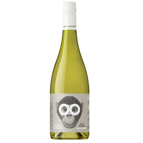 Picture of Funky Monkey-Zero Alcohol-Pinot Grigio-2020-750mL